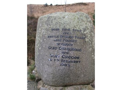 Battle of Glen Fruin memorial stone