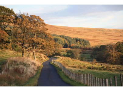 Glen Fruin in Autumn