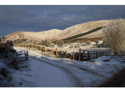 Glen Fruin in Winter