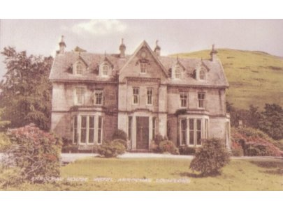 Inverioch House, one time seat of the Chief of Clan MacFarlane, it is now part of a hotel