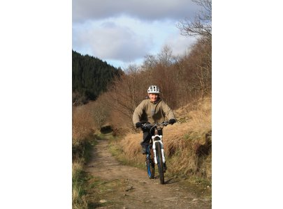 The Glen Loin path is a great mountain bike route