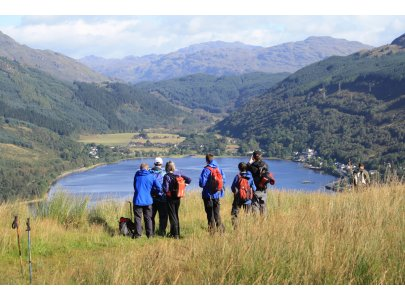 TLW walkers above Arrochar copy